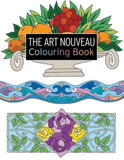 The Art Nouveau Colouring Book - Secese