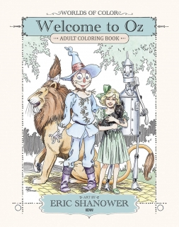 Omalovánky ze země Oz - Welcome to Oz Adult Coloring Book