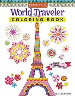 World Traveler Coloring Book - Thaneeya McArdle
