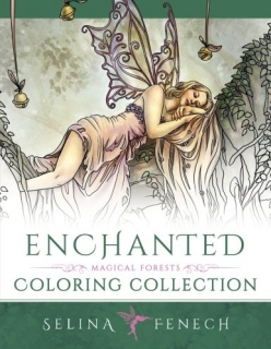 Enchanted - Magical Forests Coloring Collection - Selina Fenech