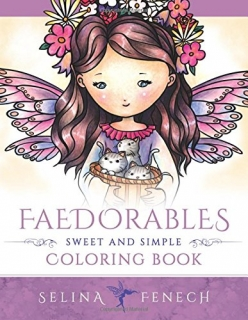 Faedorables - Sweet and Simple Coloring Book - Selina Fenech