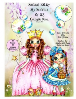 Sherri Baldy My-Besties of OZ Coloring Book