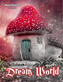 Dream World Grayscale Coloring Book - Karlon Douglas
