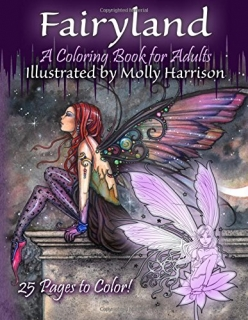 Fairyland - A Coloring Book for Adults: Molly Harrison