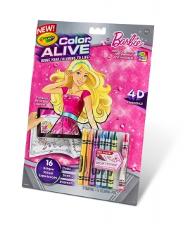 Crayola Color Alive Barbie - voskovky