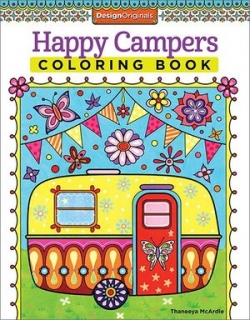 Happy Campers Coloring Book - Thaneeya McArdle